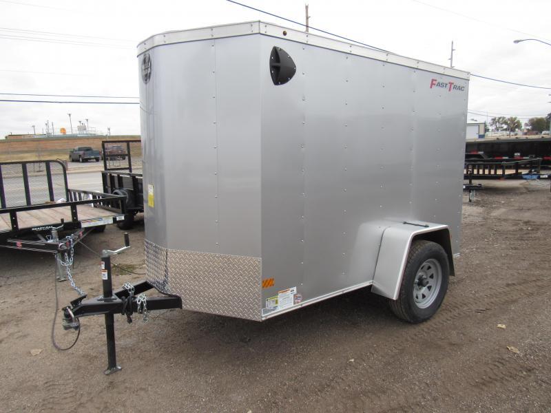 2020 Wells Cargo Fast Trac 5 X 8V Enclosed Trailer Enclosed Cargo Trailer