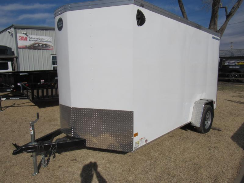 2020 Wells Cargo Road Force 7 X 12 V-Nose Enclosed Cargo Trailer