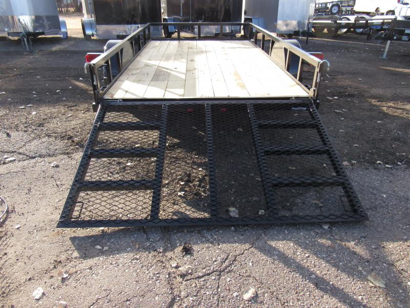 """2020 Top Hat Trailers Derby Sr Angle Utility 77"""" X 12' Utility Trailer"""