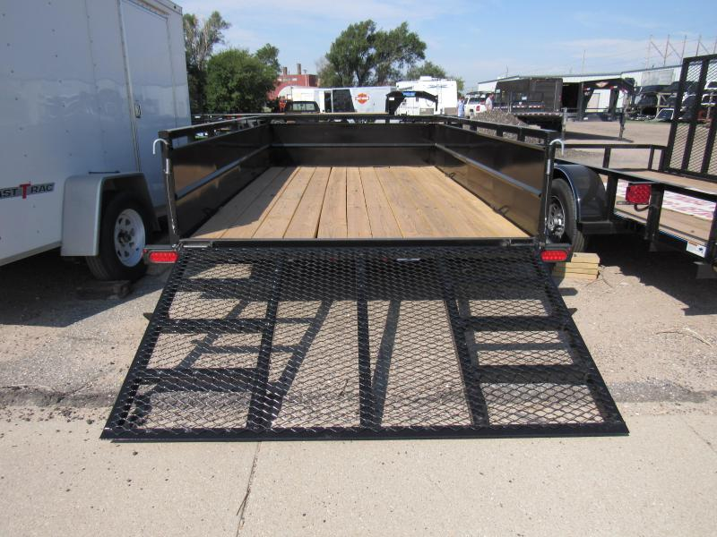 2019 Top Hat Trailers 83 X 12 Mini Runabout Utility Trailer