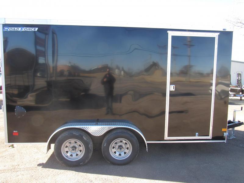 2020 Wells Cargo Road Force 7 X 14 V-Nose Enclosed Cargo Trailer