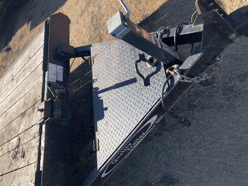 "2015 Quality Trailers 83"" X 22' Tilt Deck 10K GVWR Equipment Trailer"