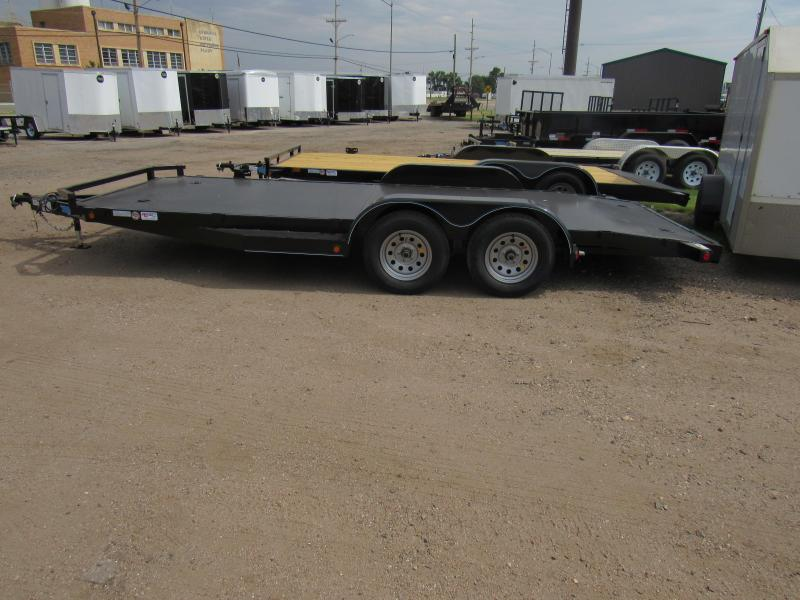 "2020 Top Hat Trailers All Steel 83"" X 18' Car / Racing Trailer"