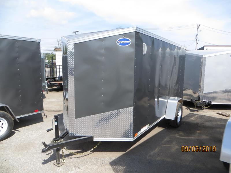 2020 United Trailers XLV-612SA30S Enclosed Cargo Trailer