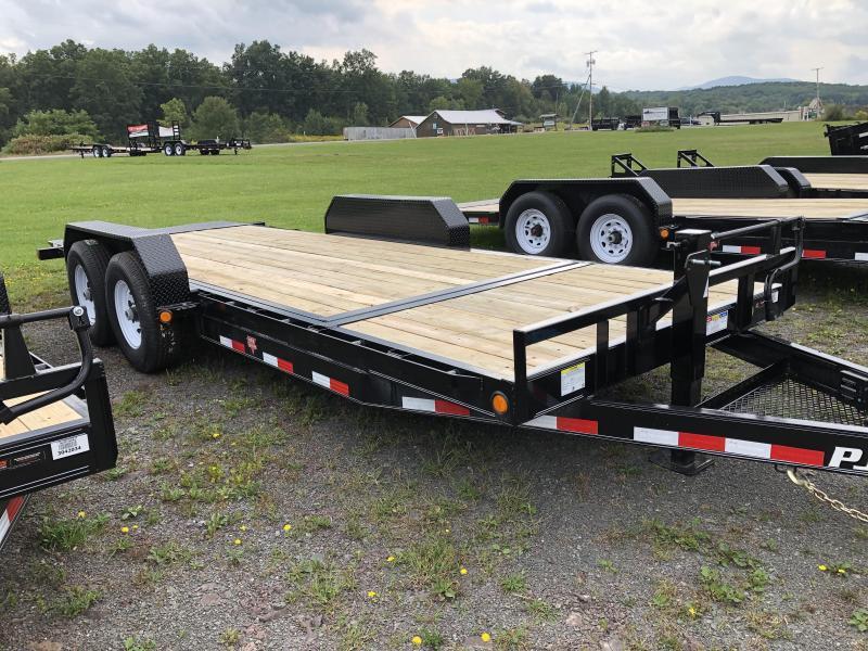 2020 PJ Trailers 16+4 Tilt Deck Equipment Trailer