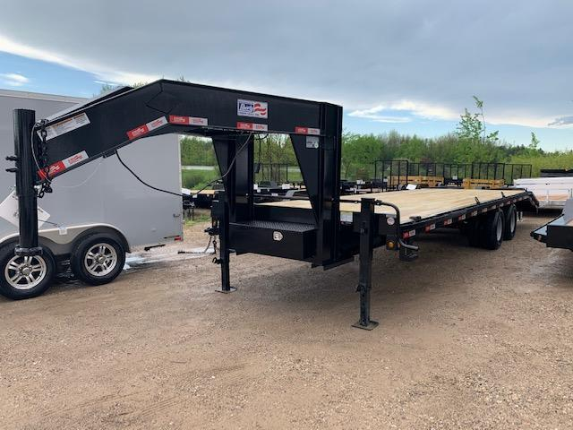 "2020 Liberty 102""x30' Gooseneck Equipment Trailer"