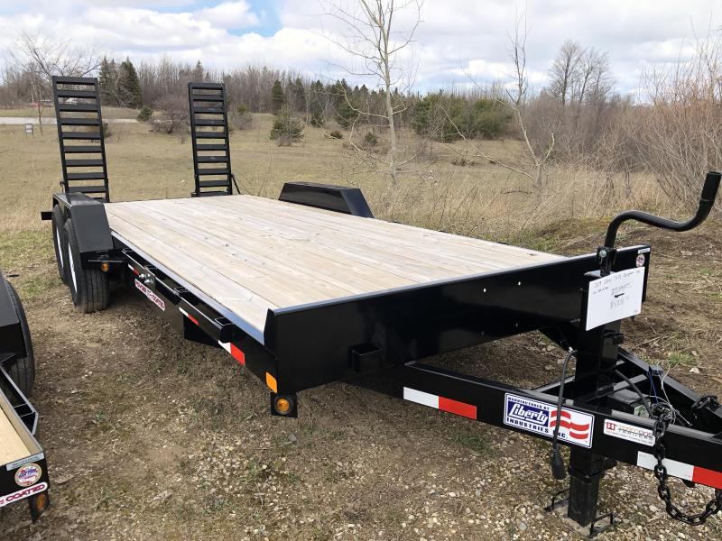 2019 Liberty 7x20 Equipment Trailer