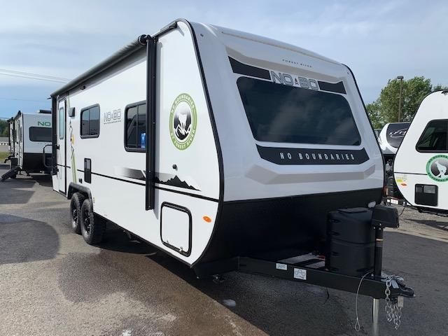 2020 Forest River, Inc. Other NO-BOUNDARIES 19.6 Travel Trailer RV