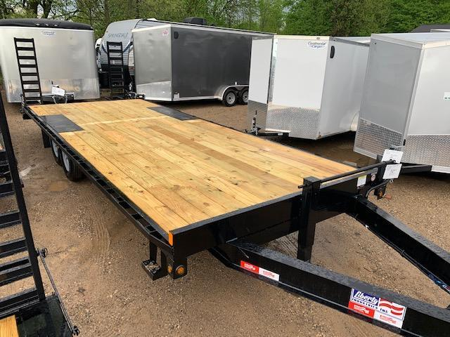 "2020 Liberty 102""x24' deckover Equipment Trailer"