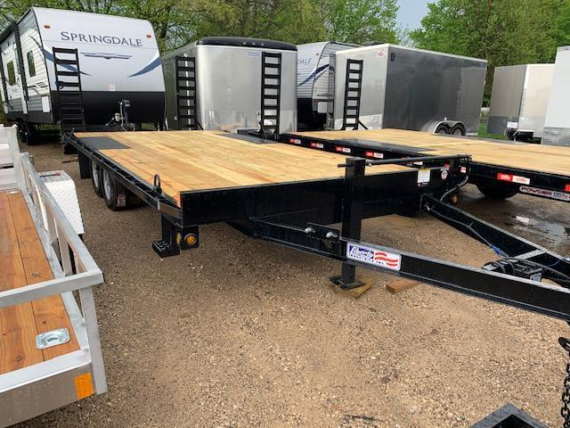 "2020 Liberty 102""x20' deckover Equipment Trailer"
