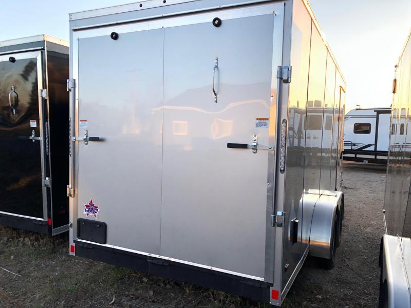 2020 US Cargo 7x18 Enclosed Cargo Trailer