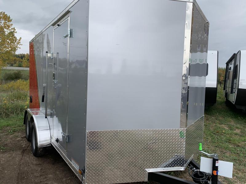 2019 Continental Cargo 7x14 utv Enclosed Cargo Trailer