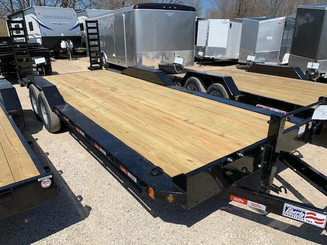 2020 Liberty 7x22 Drive over Fender Equipment Trailer