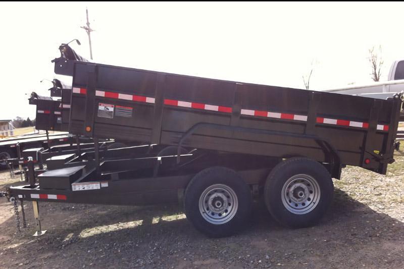 Elite 7 x 14 14K Dump Trailer w/ Tarp Kit