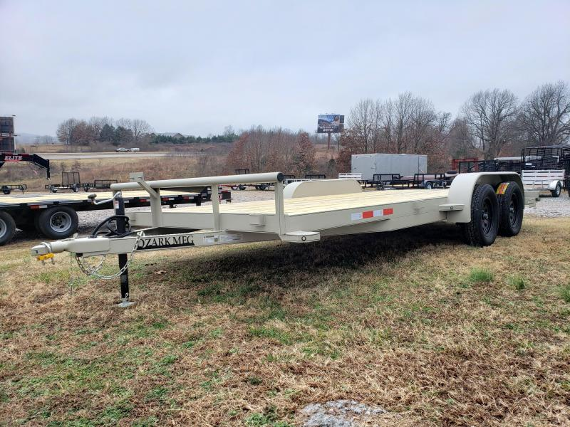 2020 Ozark 82 x 18 HD Carhauler Equipment Trailer