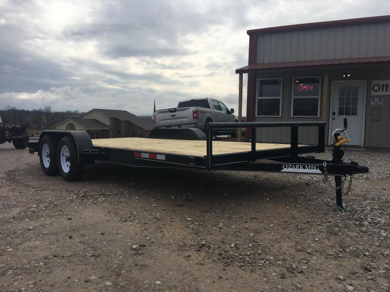 2020 Ozark 82x18 7k Equipment Trailer