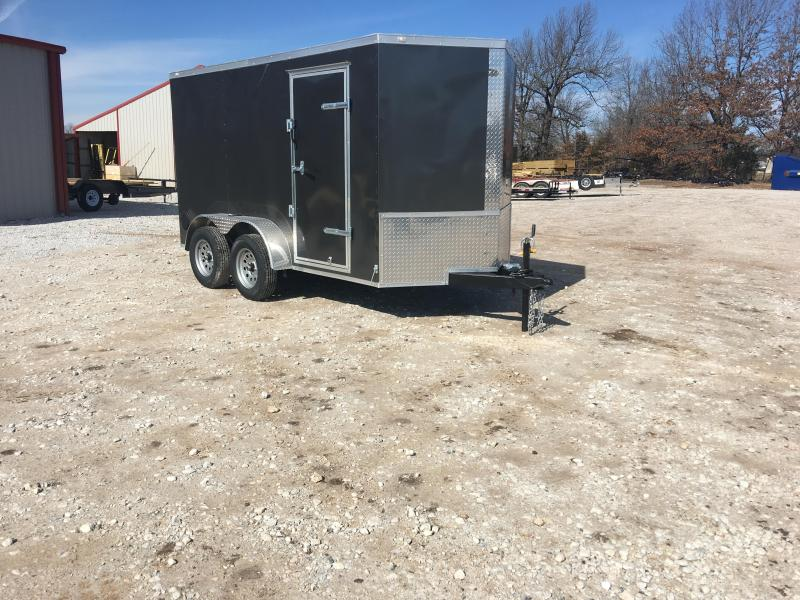 2020 Eagle Cargo 6x12 Tandem Axle with Ramp Door Enclosed Cargo Trailer