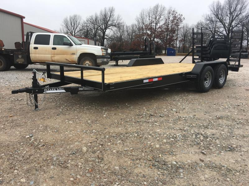 "2020 Ozark 82"" x 20' 10k Preferred Equipment Equipment Trailer"