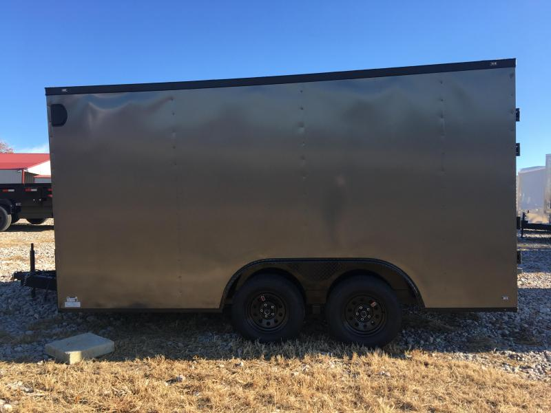 Ozark 8.5 X 14 7K Enclosed Car Hauler Trailer