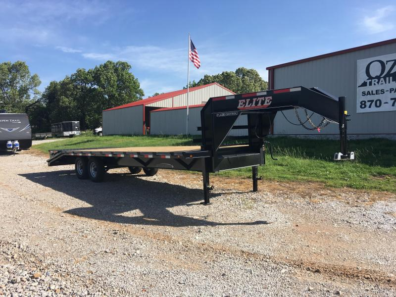 Elite Trailers 8.5x25 14K w/ Mega Ramps Deckover Trailer  in  Onia, AR