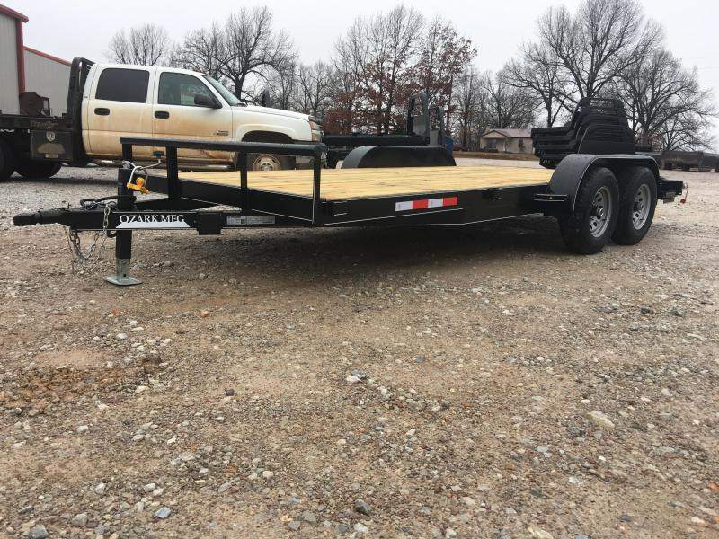 2020 Ozark 82 x 18 10k Equipment Preferred Equipment Trailer