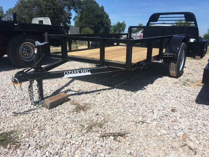 2020 Ozark 5x10 Preferred Package Dovetail and 30in. Gate Utility Trailer