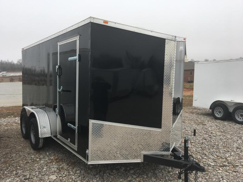 2020 Eagle Cargo 7x14 Tandem Axle Enclosed Cargo Trailer