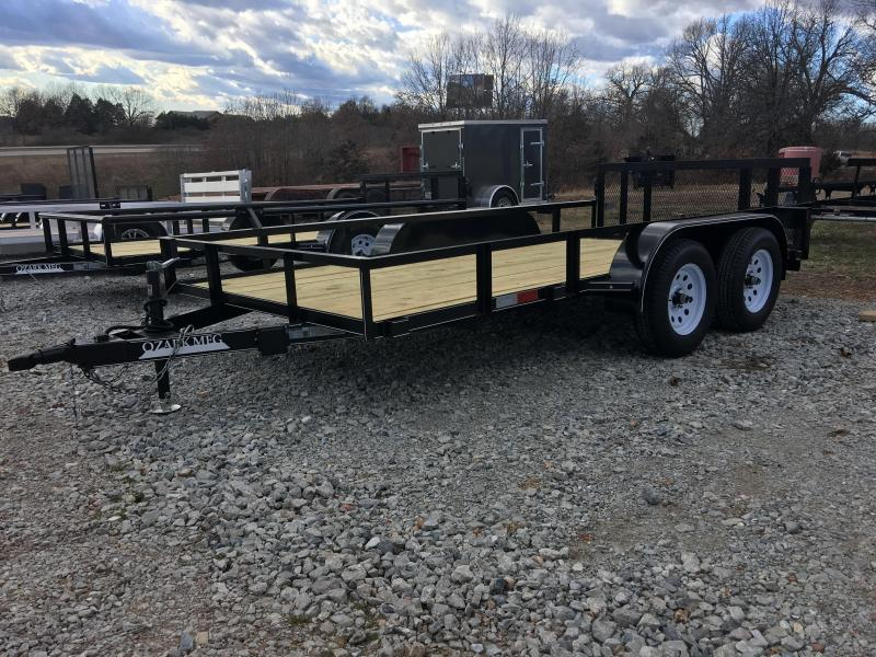 2020 Ozark 76x14 7k Utility Trailer
