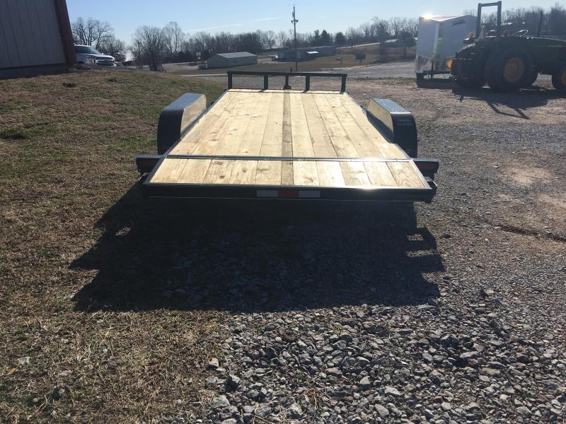 2020 Ozark 82x18 7k Car Hauler Equipment Trailer