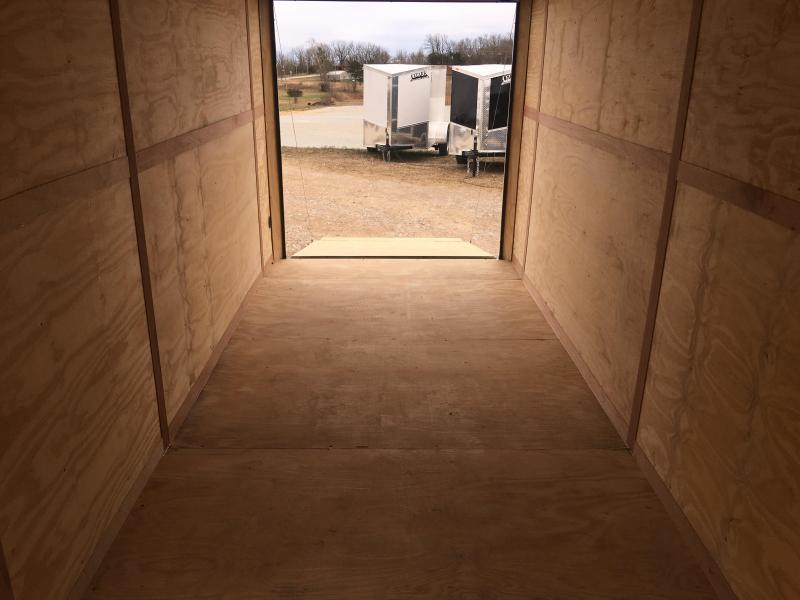 2020 Eagle Cargo 7x18 with 7' Interior Height Cargo Trailer Enclosed Cargo Trailer