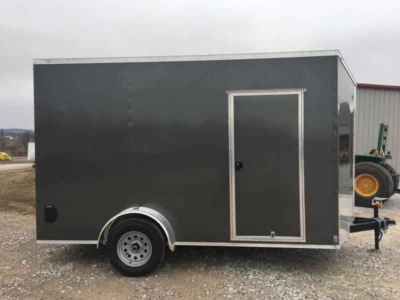 Ozark 7 X 12 Enclosed Cargo Trailer 3.5K