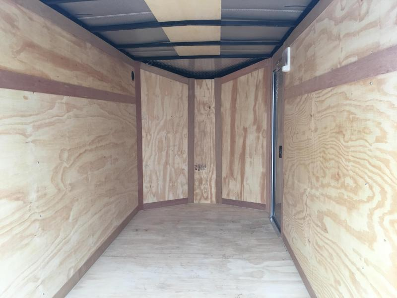 2020 Eagle Cargo 5x10 with 5.5' Interior Height
