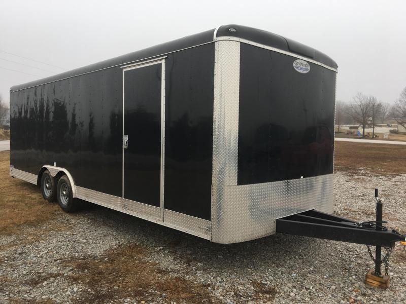 2020 Continental Cargo 8.5x24 10K with 7' Interior Cargo Trailer Enclosed Cargo Trailer
