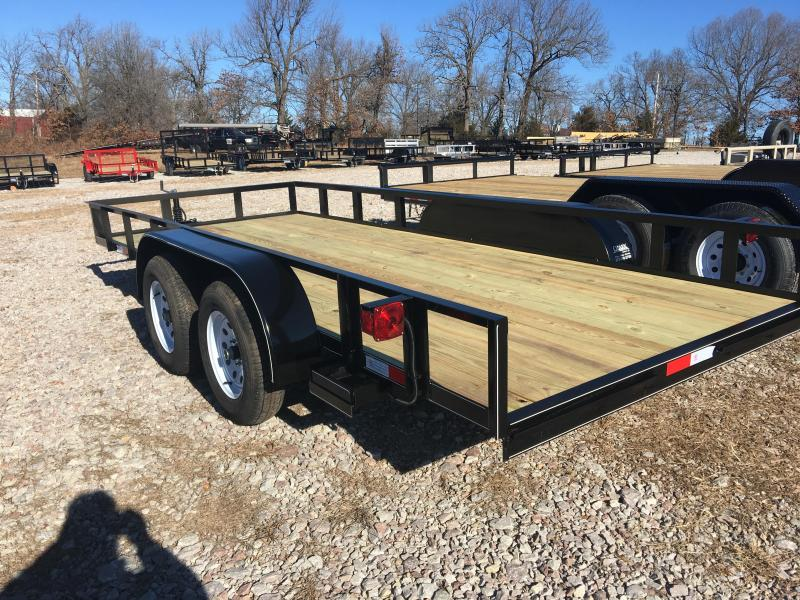 2020 Ozark 76x16 Contractor Package Utility Trailer