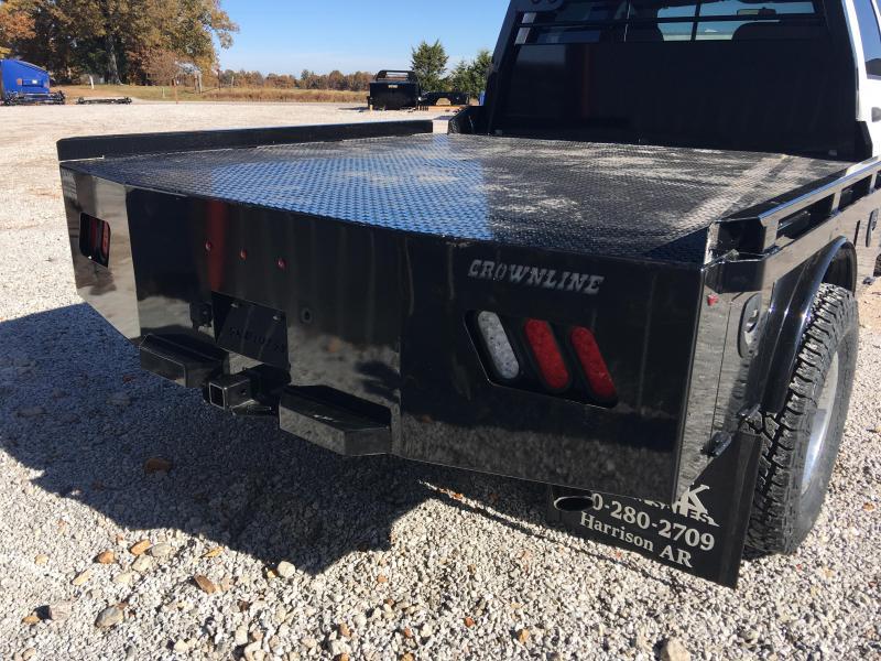 Crownline Skirted Dual Rear Wheel Truck Bed