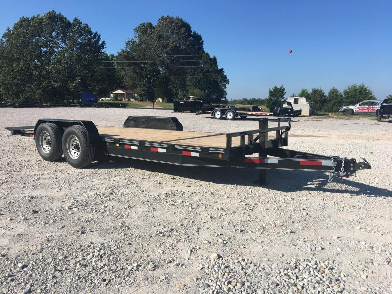 2019 Elite Trailers 82x21 (17 and 4) 14K Hydraulic Tilt Trailer Equipment Trailer