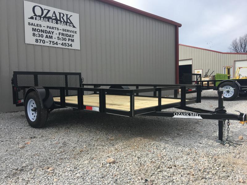 2020 Ozark 76x12 Economy Utility Trailer