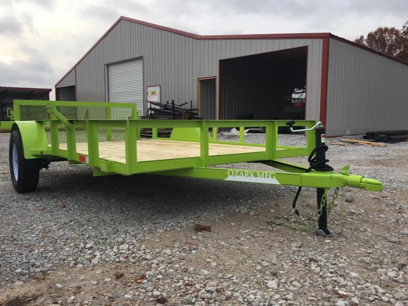 2020 Ozark 76x12 Bright Green Utility Trailer Utility Trailer