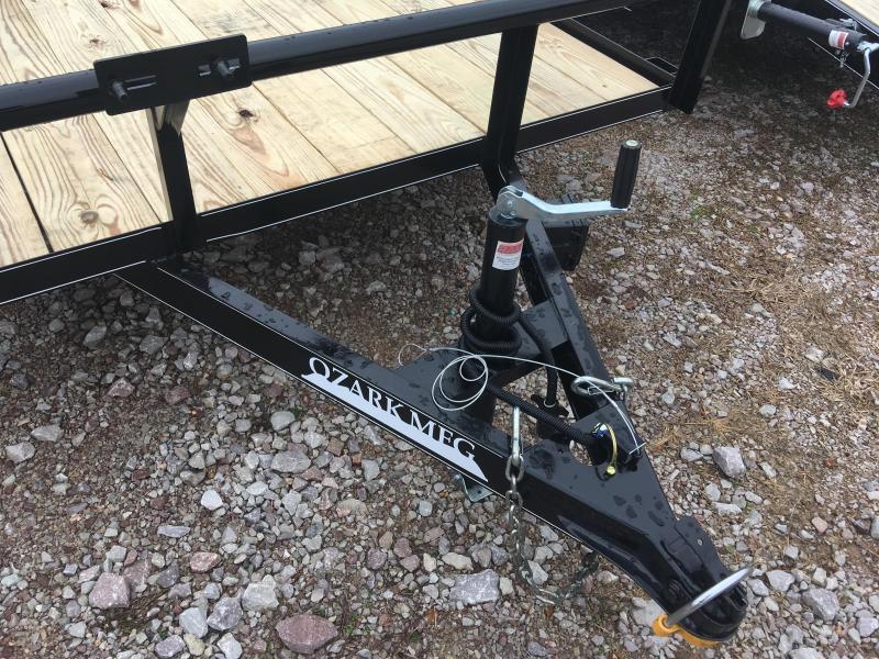 2020 Ozark 76x14 HD 5200 GVWR Utility Trailer