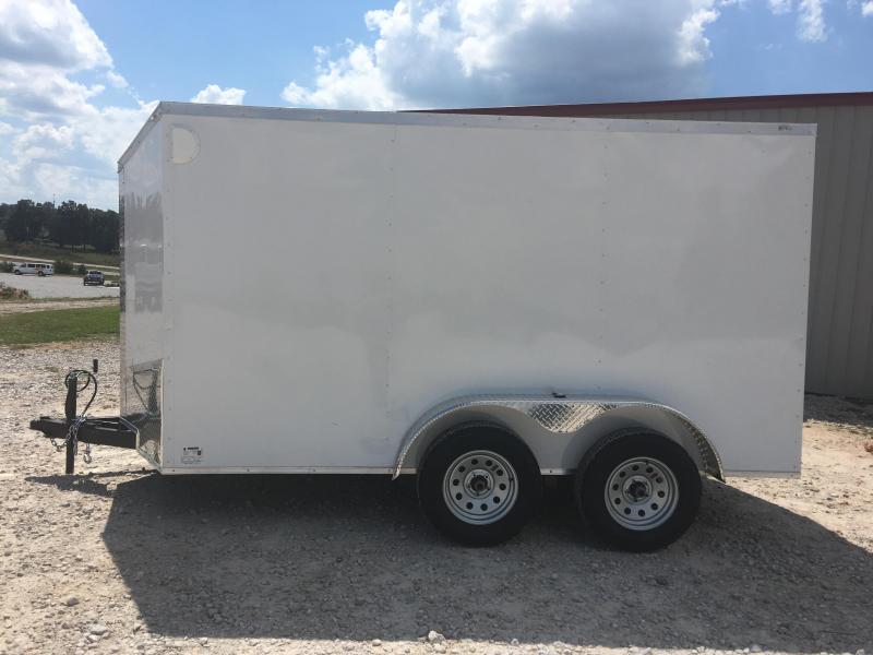Ozark 6 X 12 Tandem Axle Enclosed Cargo Trailer 7K
