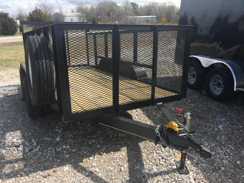 2019 Hillbilly 5x12 Tandem Axle with 3' Sides Utility Trailer Utility Trailer