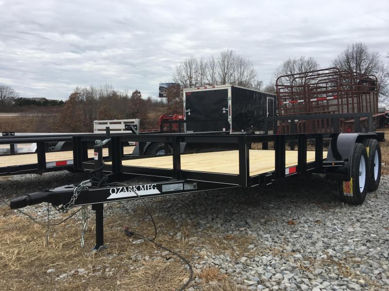 2020 Ozark 76x14 Tandem Axle Utility Trailer Utility Trailer