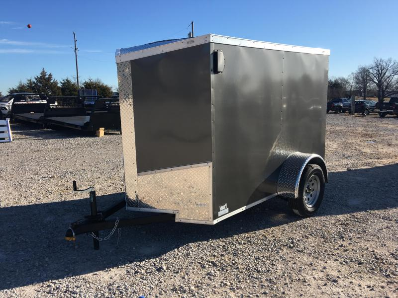 2020 Ozark 5x8 Cargo Trailer with 5.5 ft interior height