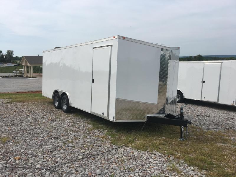 Ozark 8.5 X 18 Enclosed Car Hauler 7K
