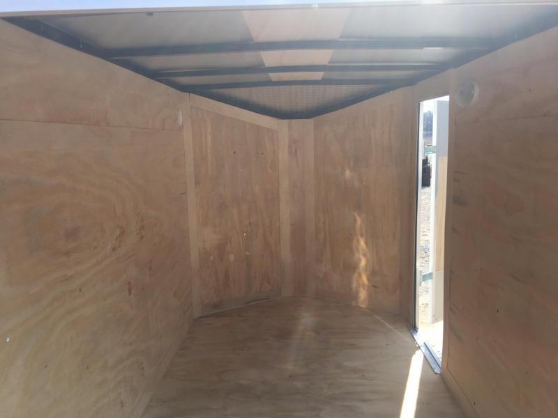 Ozark 5 X 8 Enclosed Cargo Trailer 3K