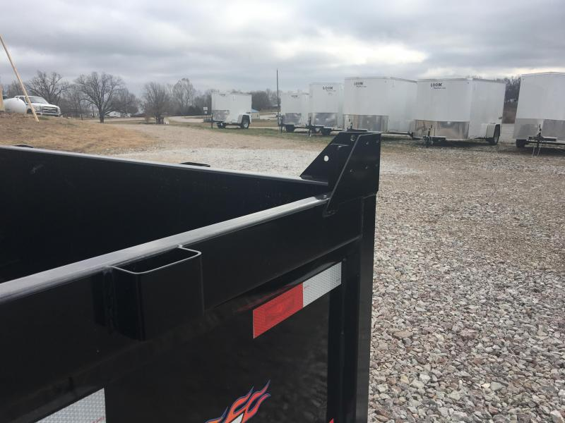 H and H 7 x 14 14K Dump Trailer