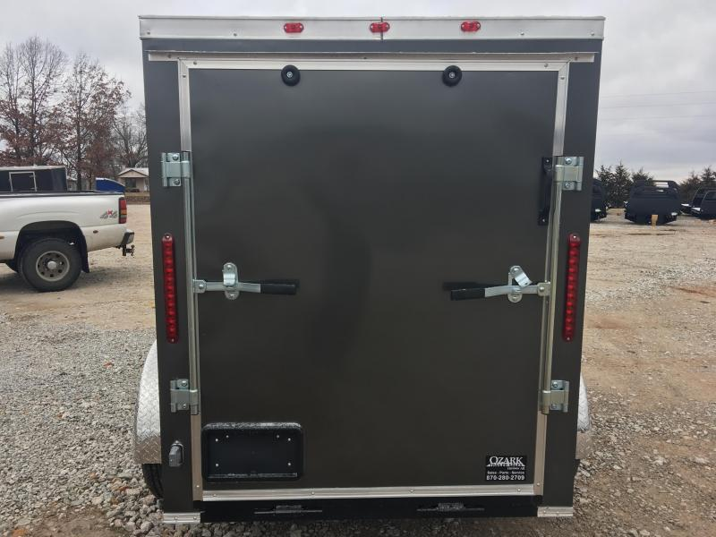 2020 Eagle Cargo 5x8 with 5.5' Interior Height and Rear Ramp Door Enclosed Cargo Trailer