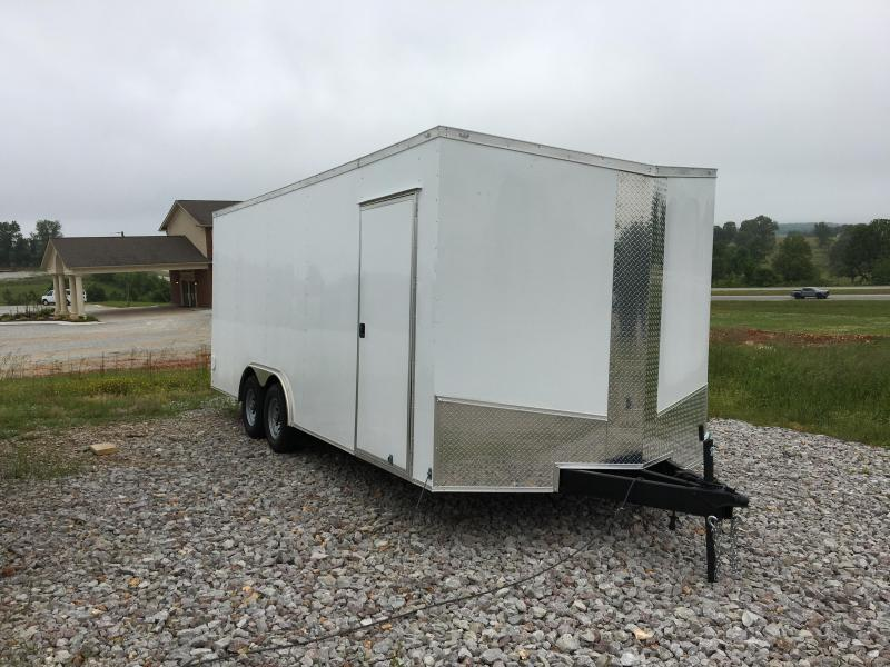 2020 Eagle Cargo 8.5x20 10k Cargo Trailer Enclosed Cargo Trailer