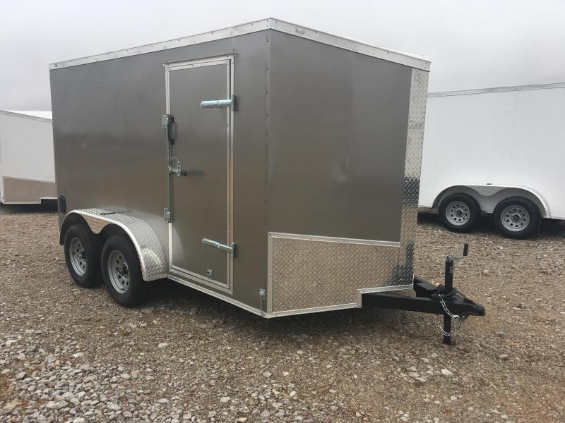 Ozark 7 X 12 Tandem Axle Enclosed Cargo Trailer 7K