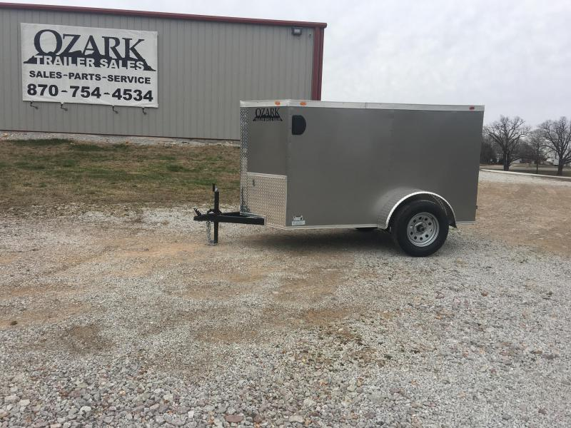2020 Eagle Cargo 4x6 Barn Door Cargo Trailer Enclosed Cargo Trailer